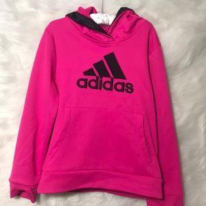 Child's Pink Adidas Hoodie